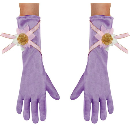 Disney Rapunzel Gloves Toddler Halloween Accessory - Filmes De Halloween Disney Channel