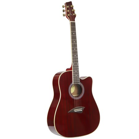 kona k1etrd acoustic electric dreadnought cutaway spruce top guitar with high gloss transparent. Black Bedroom Furniture Sets. Home Design Ideas