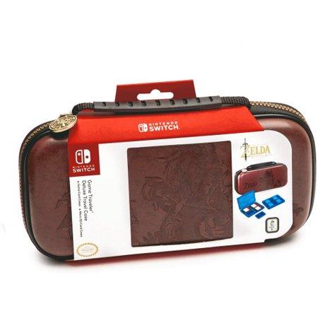 Nintendo Switch Game Traveler Deluxe Travel Case Zelda Link, - Game Traveler