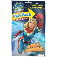 Play Pack - Captain Marvel - Grab and Go Party Favors - 8ct
