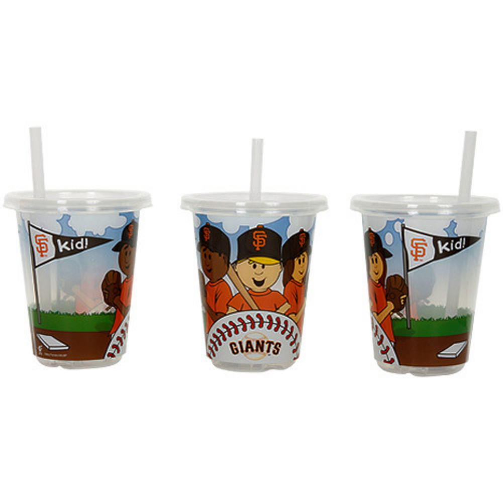 Baby Fanatic Sip N Go 3 Pack of Cups - San Francis