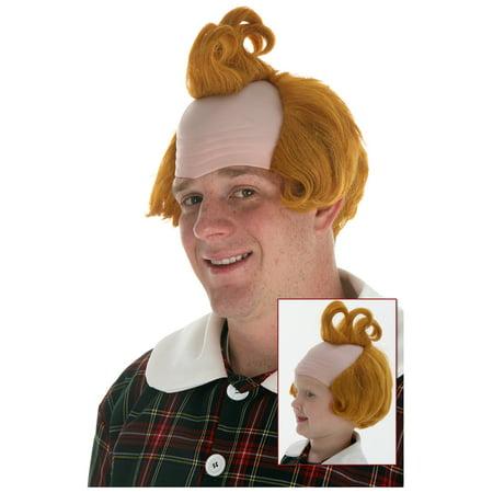Three Curl Munchkin Wig - Jheri Curl Wig