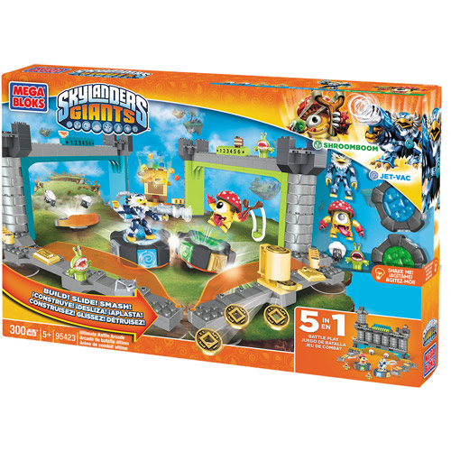 Mega Bloks Skylanders Giants Ultimate Battle Arcade Play Set