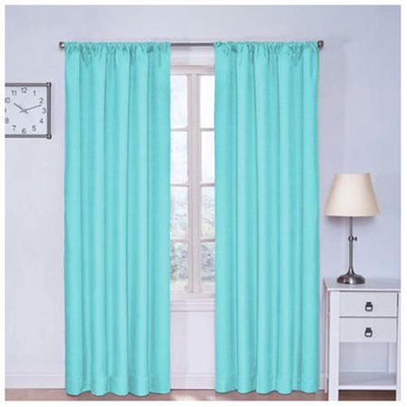 Eclipse Kids Kendall Room Darkening Window Curtain (Cottage Cove White Panel)