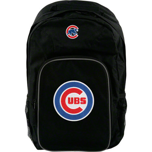MLB - Chicago Cubs Black Youth Southpaw Backpack