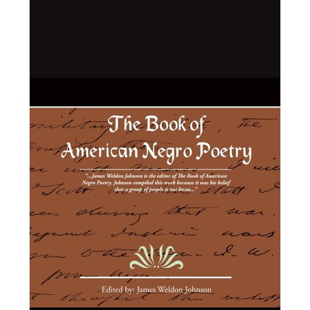 The Book of American Negro Poetry (Paperback)