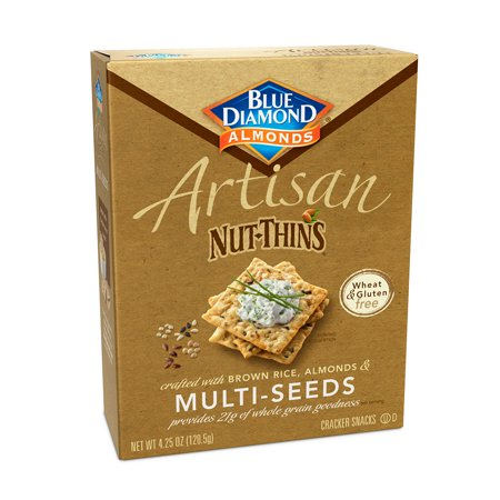 Betty Crocker Sauce - Artisan Nut Thins Crackers, Multi-Seeds 4.25 oz Box