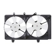 TYC 620820 Dual Radiator and Condenser Fan for 04-05 Dodge Neon CH3115137