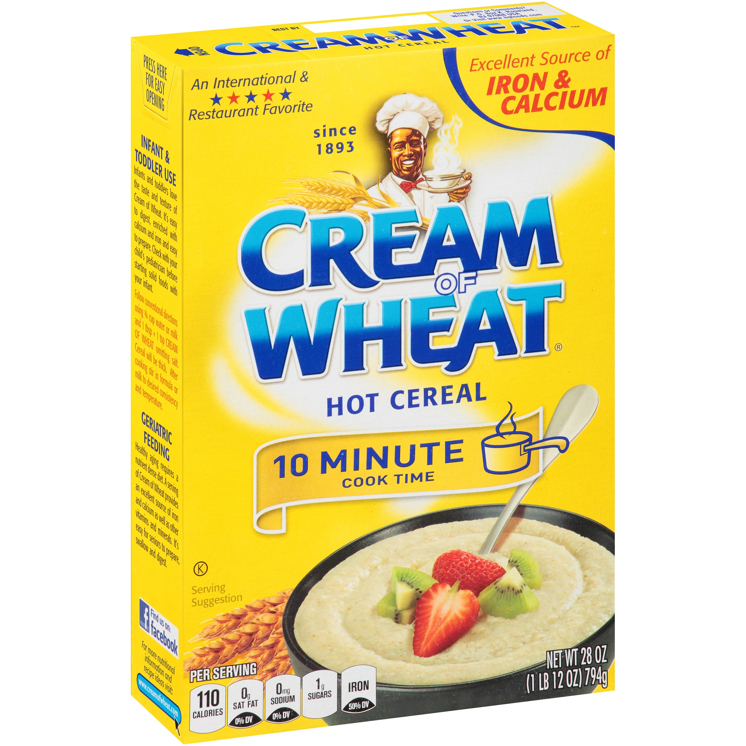 Cream of Wheat® Original 10 Minute Hot Cereal 28 oz. Box