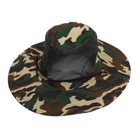 5cc98776032 Unique Bargains Men Women Nylon Hiking Fishing Cap Sun Hat Mesh Veil Hooded  - Walmart.com