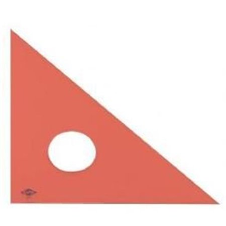 10 in. Triangle Fluor 45 Degrees-90 Degrees - image 1 of 1