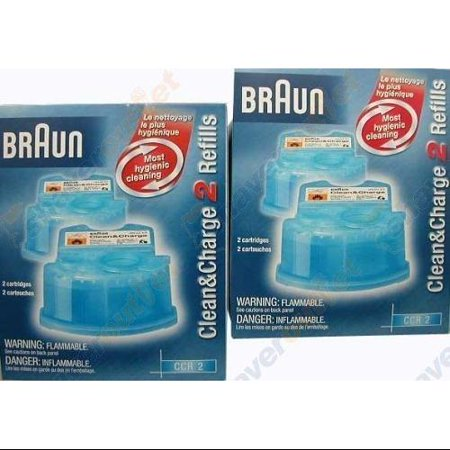 braun clean and renew cartridge refills 4 count. Black Bedroom Furniture Sets. Home Design Ideas