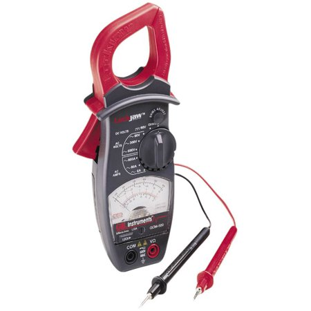how to use a analog clamp meter
