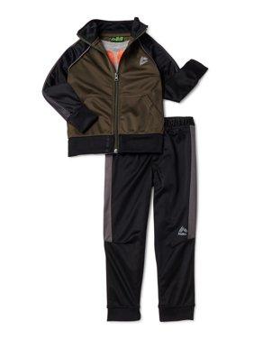 RBX Tricot Jacket, Joggers & Graphic T-Shirt 3-Piece Active Set (Little Boys & Big Boys)