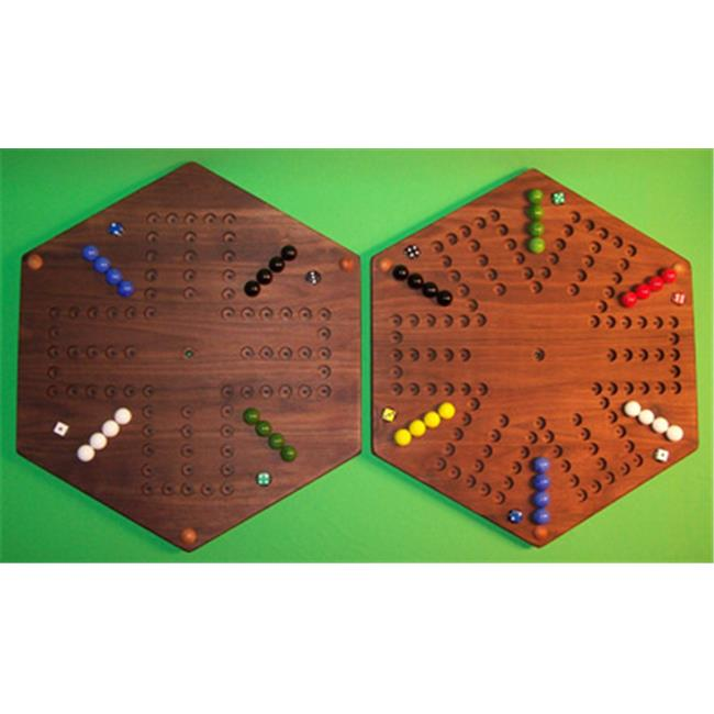 THE PUZZLE-MAN TOYS W-1978 Wooden Marble Game Board - (2 ...