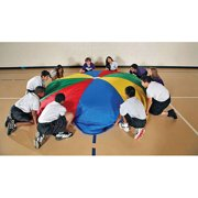 School Smart Durable Nylon Parachute with Carrying Bag