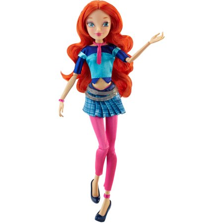 "Winx Club 11.5"" Basic Fashion Doll, Concert Bloom"