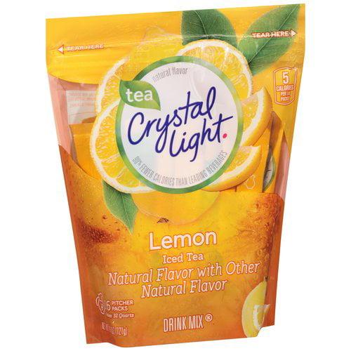 Crystal Light Lemon Iced Tea Drink Mix, 16 count, 4.26 oz