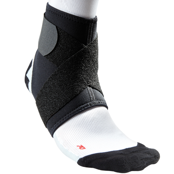 McDavid Level 2 Ankle Support w/Figure-8 Straps - Black