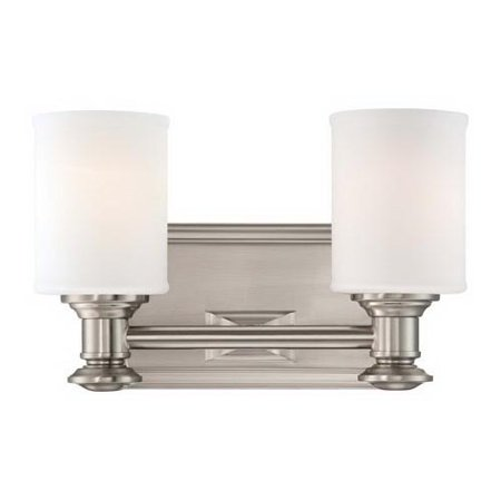 Minka-Lavery Harbour Point Transitional Colonial 5172 Dimmable Bathroom Vanity Light (Colonial Vanity)