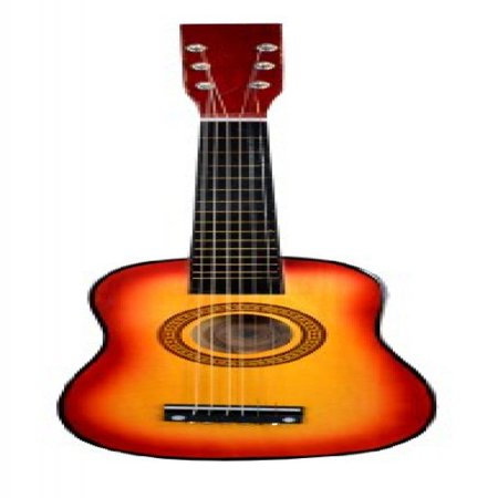 23 Inch Acoustic Toy Guitar for Kids - Sunkist Sunburst & DirectlyCheap(TM) Translucent Blue Medium Guitar (Semi Hollow Body Guitar)