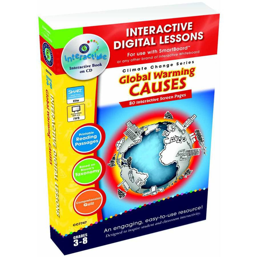 Classroom Complete Press Global Warming Causes CD-ROM, Grade 3 to 8