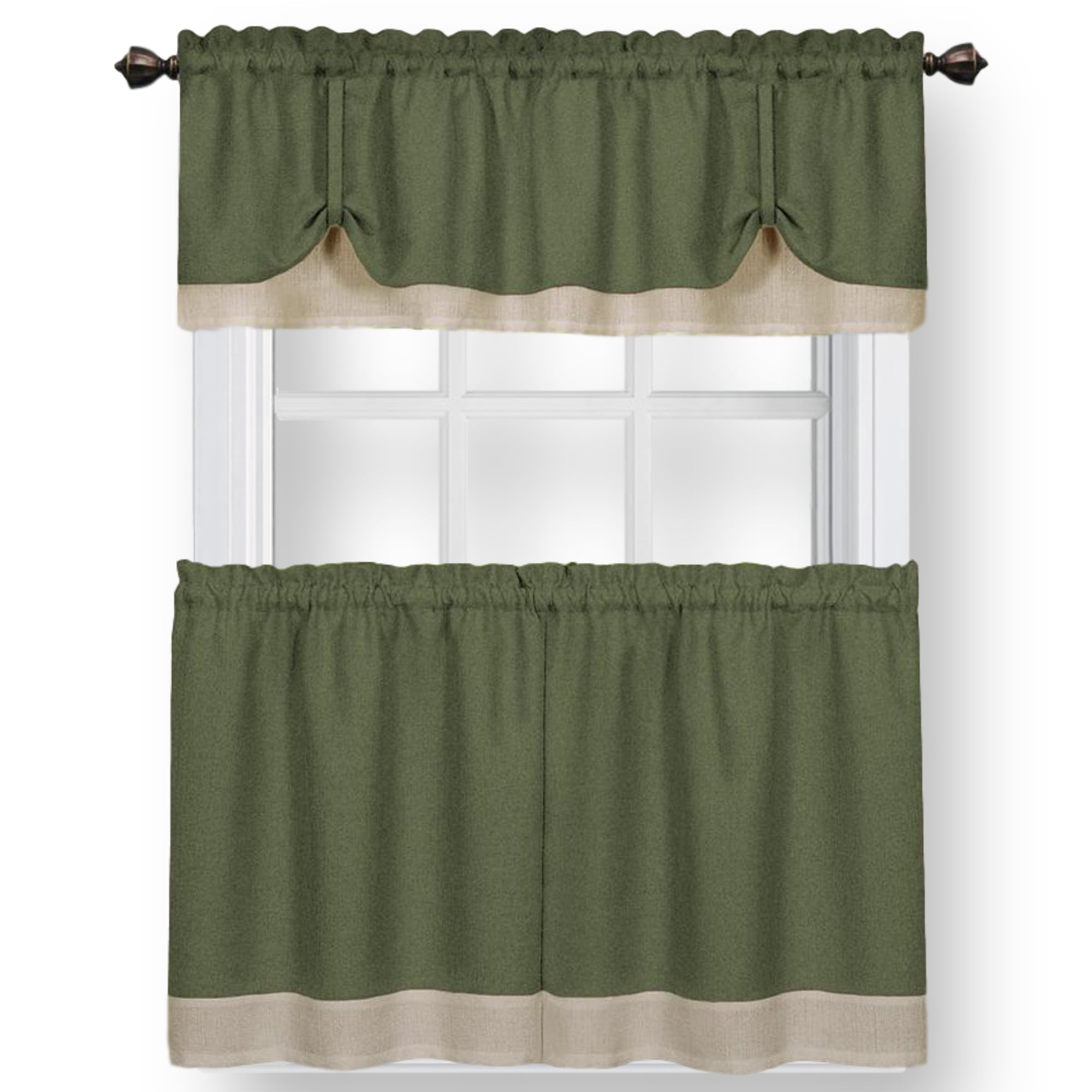 Woven Trends Two Tone Window Curtain Tier Pair Valance Set Double Layer Small Window Curtains For Kitchen Living Room And Kitchen Walmart Com Walmart Com,Ikea Customer Service Usa Email