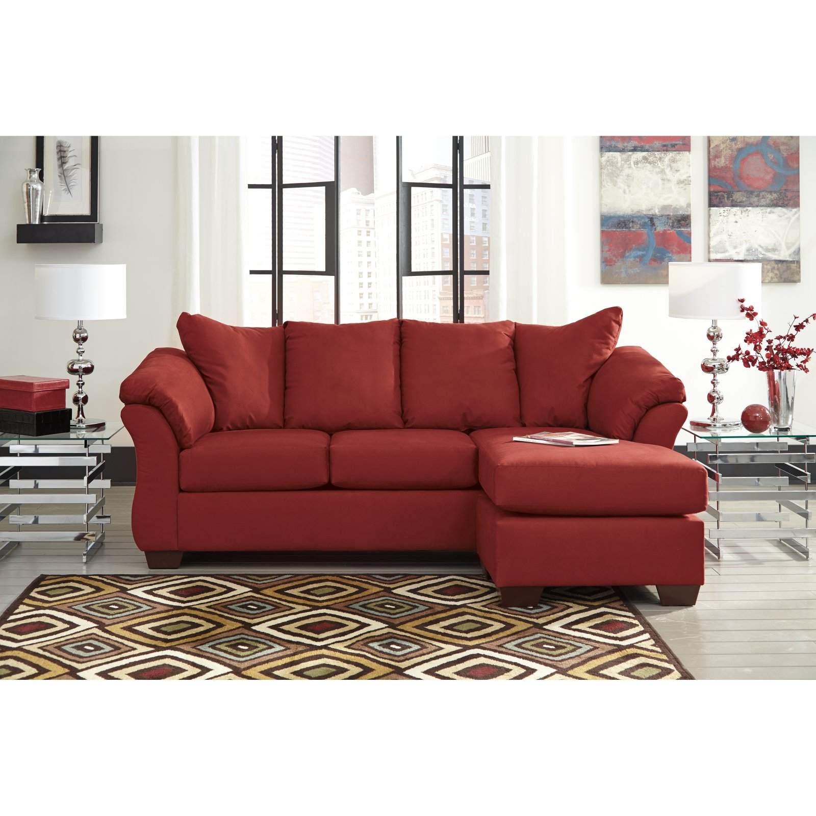 Signature Design by Ashley Darcy Sofa Chaise Walmart