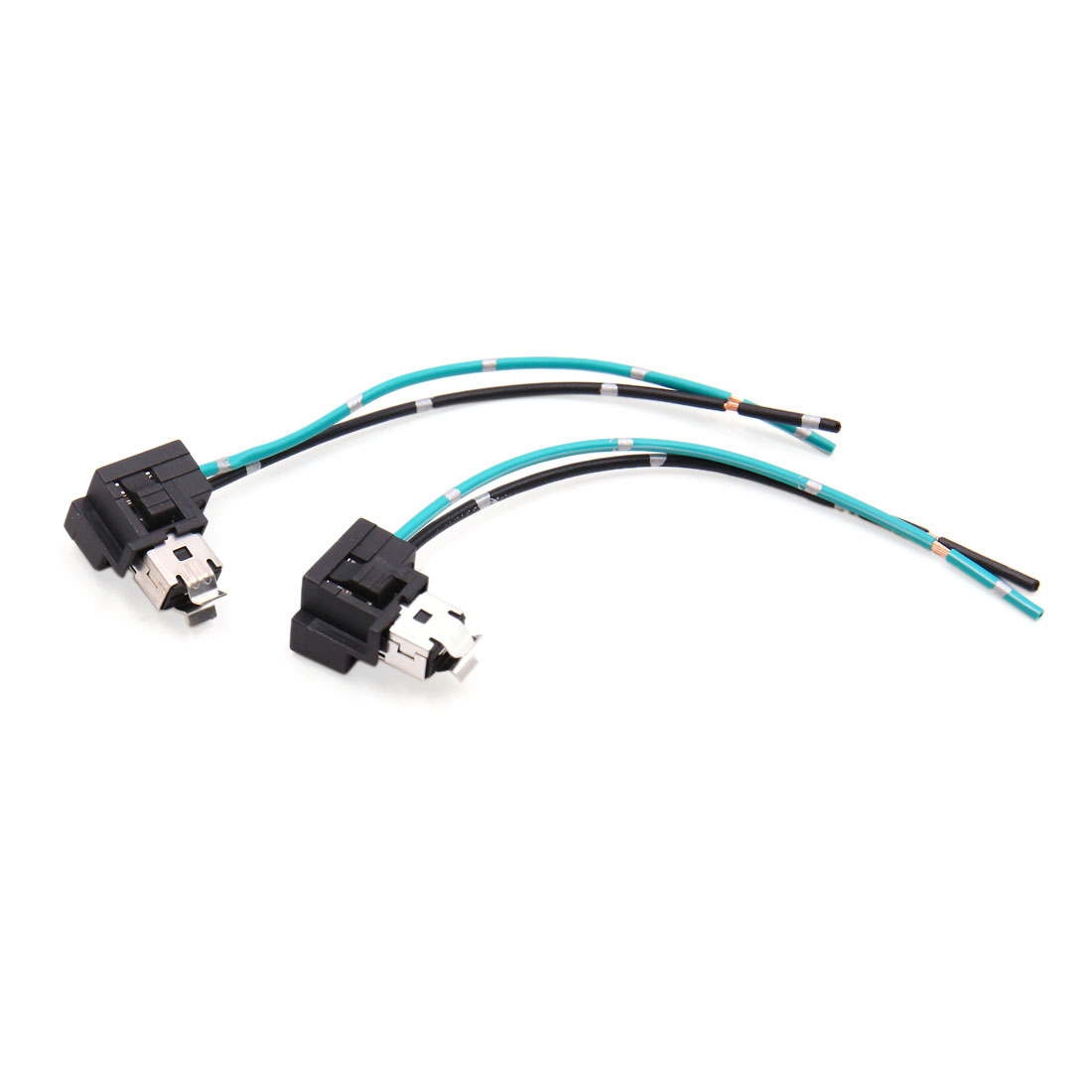 2pcs H1 Headlight Fog Lamp Extension Wiring Harness Socket