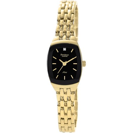 Womens Dress Black Cushion Watch