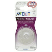 Philips Avent Natural Variable Flow Nipples 3m+, 2 count