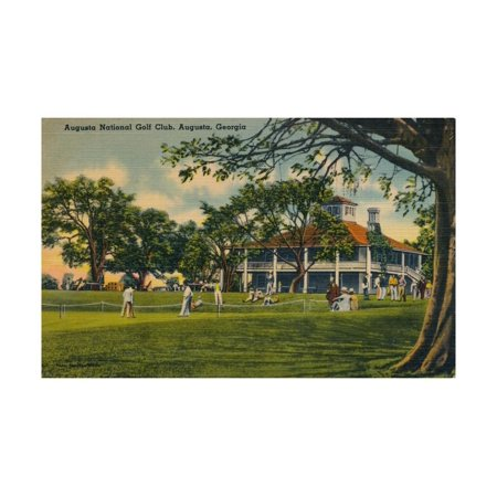 Augusta National Golf Club House, 1943 Print Wall