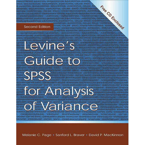 Levine's Guide to Spss for Analysis of Variance