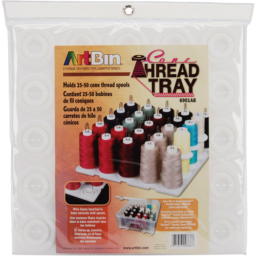 ArtBin Super Satchel Thread Tray, Translucent