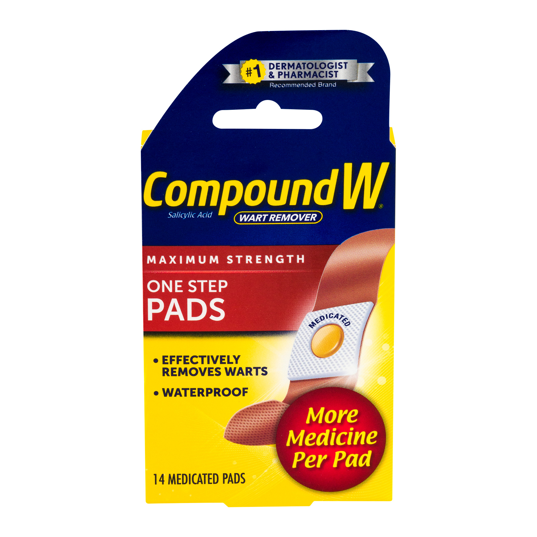 Medtech Products Compound W  Wart Remover, 14 ea