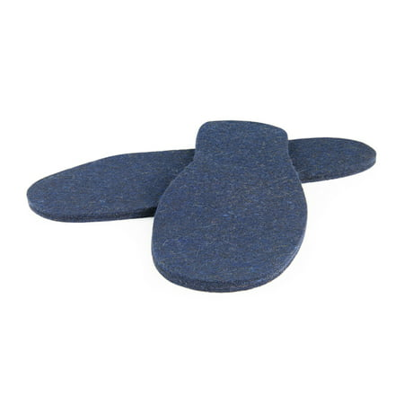 Junior Felt Insoles: Blue