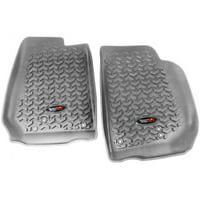 Floor Liner Kit, Gray, 07-16 Wrangler JK