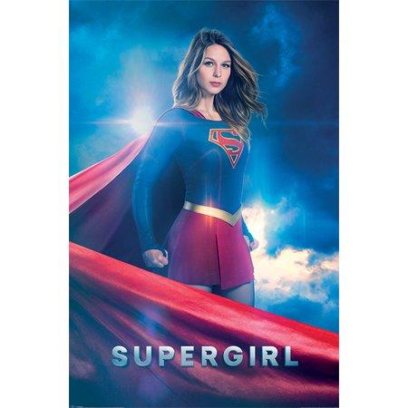 New Tv Show Poster - Supergirl - TV Show Poster / Print (Kara Zor-El) (Size: 24