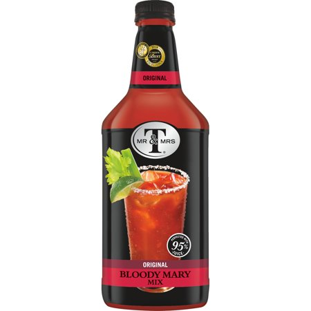Mr & Mrs T Original Bloody Mary Mix, 1.75 L Bottle (Pack of