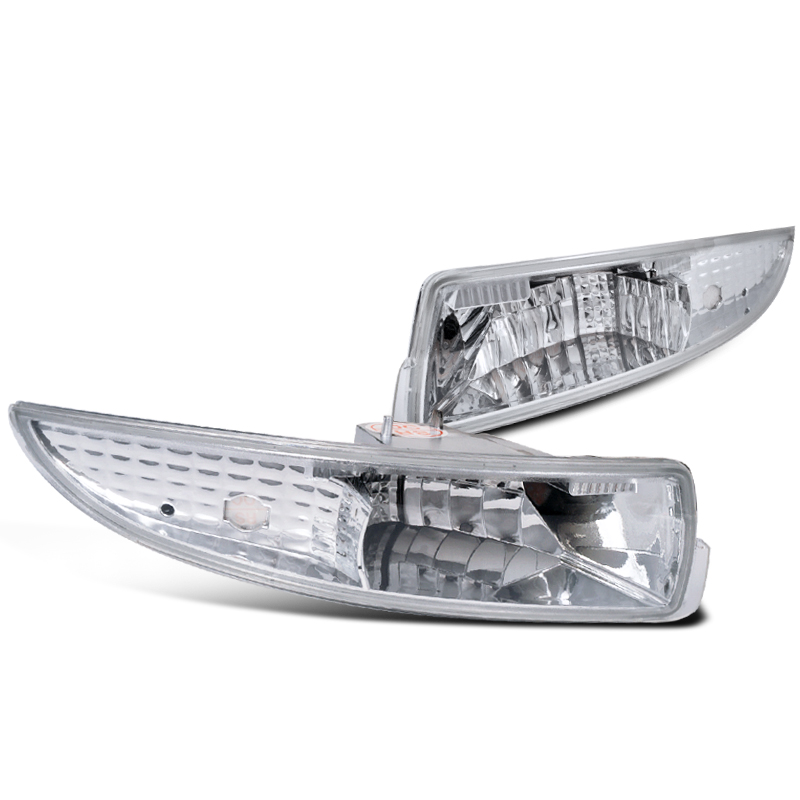 Spec-D Tuning 1993-2002 Chevy Camaro Front Bumper Lights Parking Signal Lamps 93 94 95 96 97 98 99 00 01 02 (Left + Right)