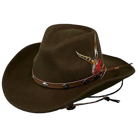 2df045c177a Outback Trading Hat Mens Wide Open Spaces Water Repellent Wool 1336 -  Walmart.com