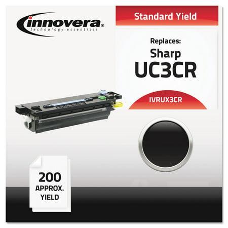 Compatible Ux3cr Thermal Transfer Print Cartridge, Black