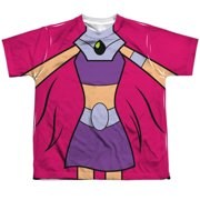 Teen Titans Go - Starfire Uniform - Youth Short Sleeve Shirt - Small