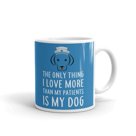 The Only Thing I Love More is My Dog Coffee Tea Ceramic Mug Office Work Cup