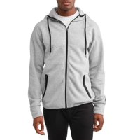 Deals on RBX Mens Fleece Hooded Full Zip Jacket