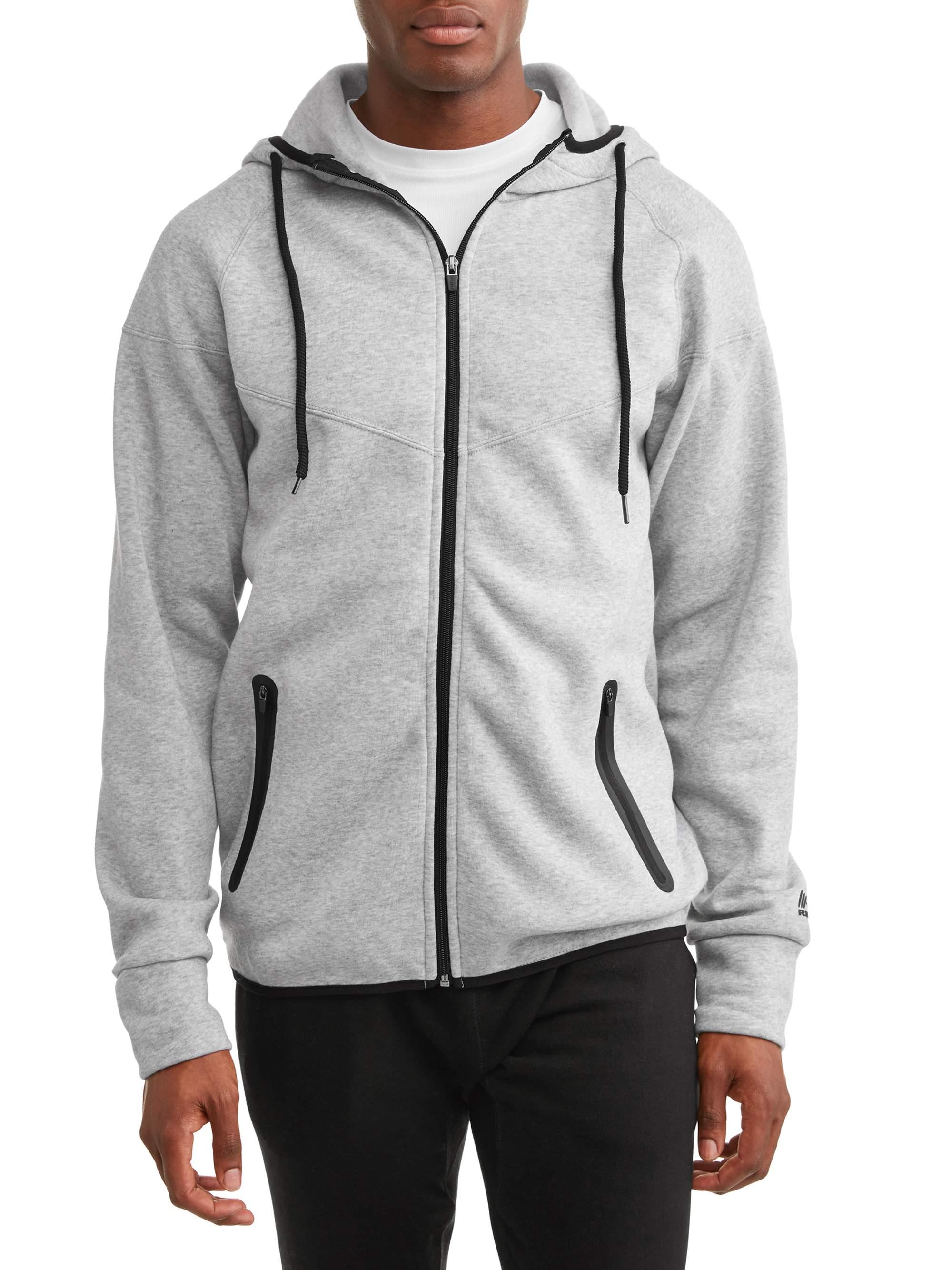 Men's Fleece Hooded Full Zip Jacket
