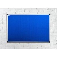"Viztex® Fabric Bulletin Board with an Aluminium frame - 24"" x 36"""