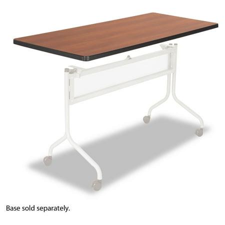 Safco Impromptu Series Mobile Training Table Top, Rectangular, 48w x 24d, Cherry