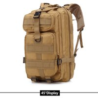 Zimtown 30L Waterproof Tactical Backpack, Small 3 Day Millitary Assault Molle Army 511 Rucksack, Kids / Women Oxford fabric School Bookbag, for Outdoor Hiking Camping Hunting Trekking Travel Sports