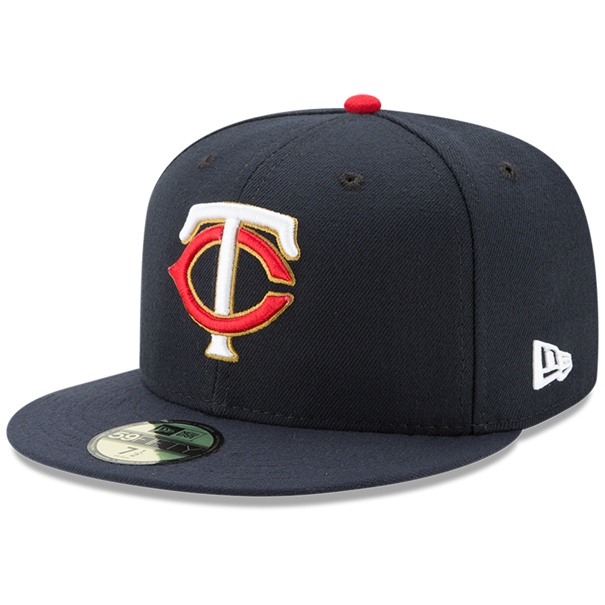 Minnesota Twins New Era Youth Authentic Collection On-Field Alternate 59FIFTY Fitted Hat - Navy